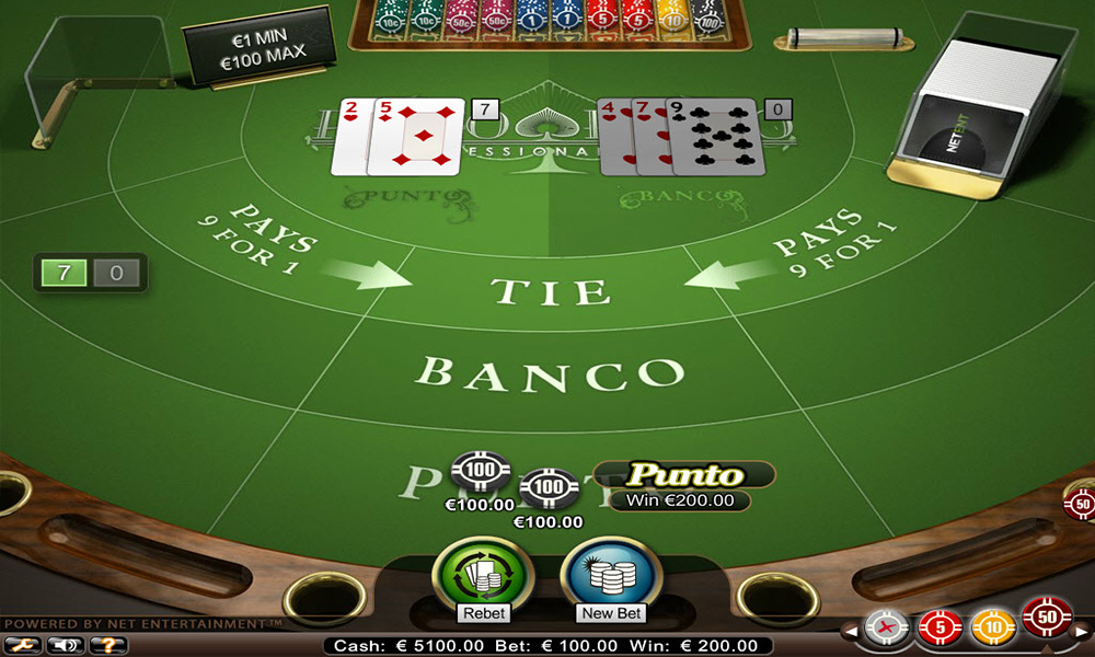 Punto banco casino