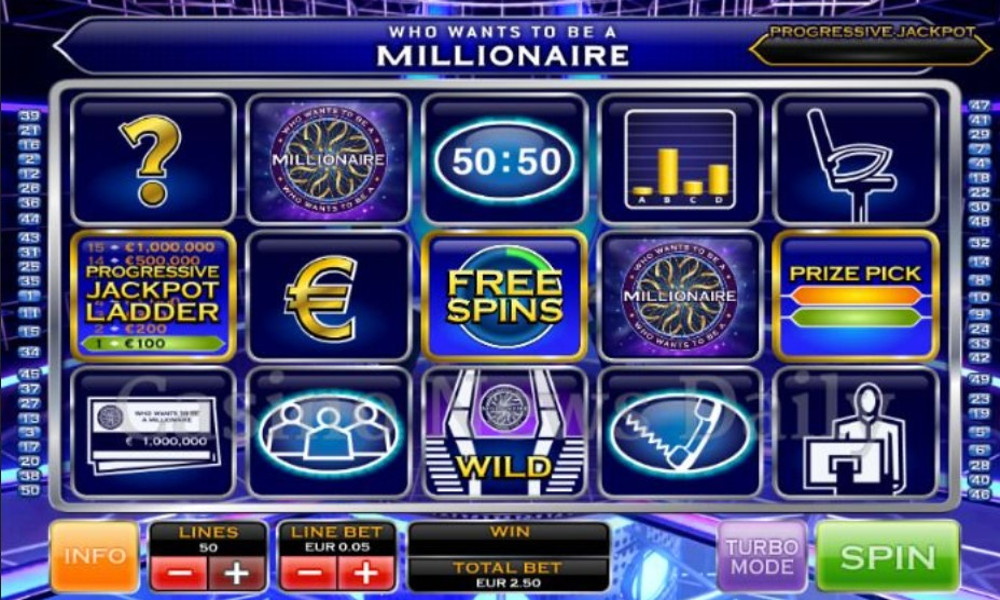 Who Wants to be a Millionaire Slot - Play Game Show Slots