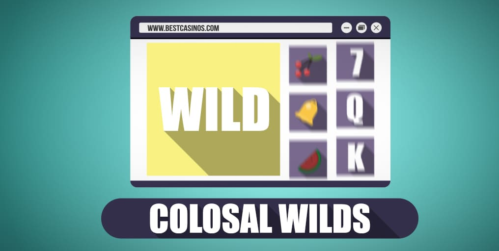 Colosal Wilds in slots online