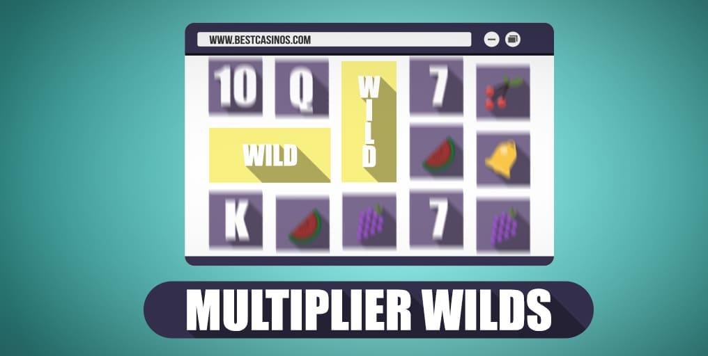 Online Slot Game Multiplier Wilds
