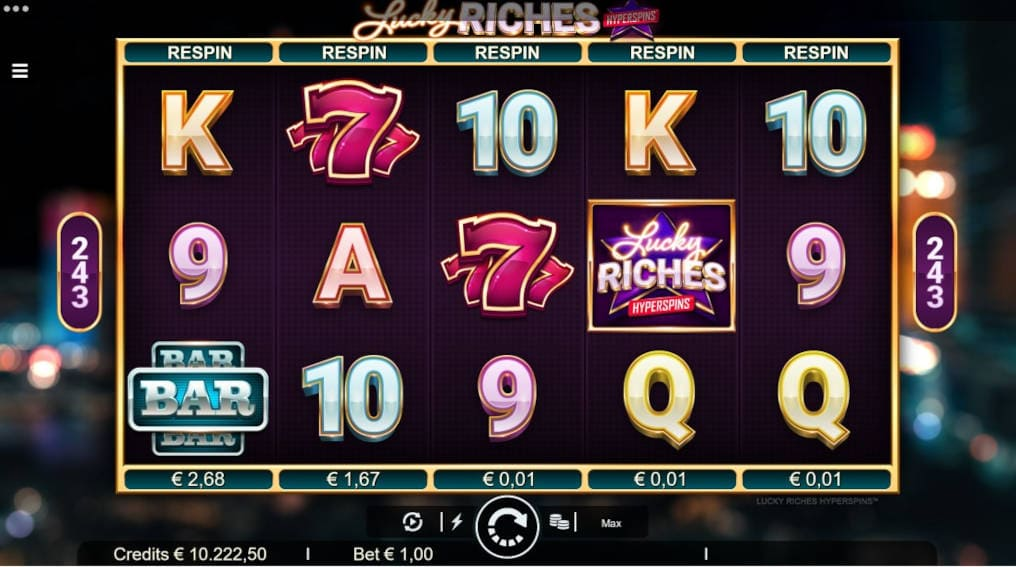 Play lucky riches hyperspins Microgaming Slot