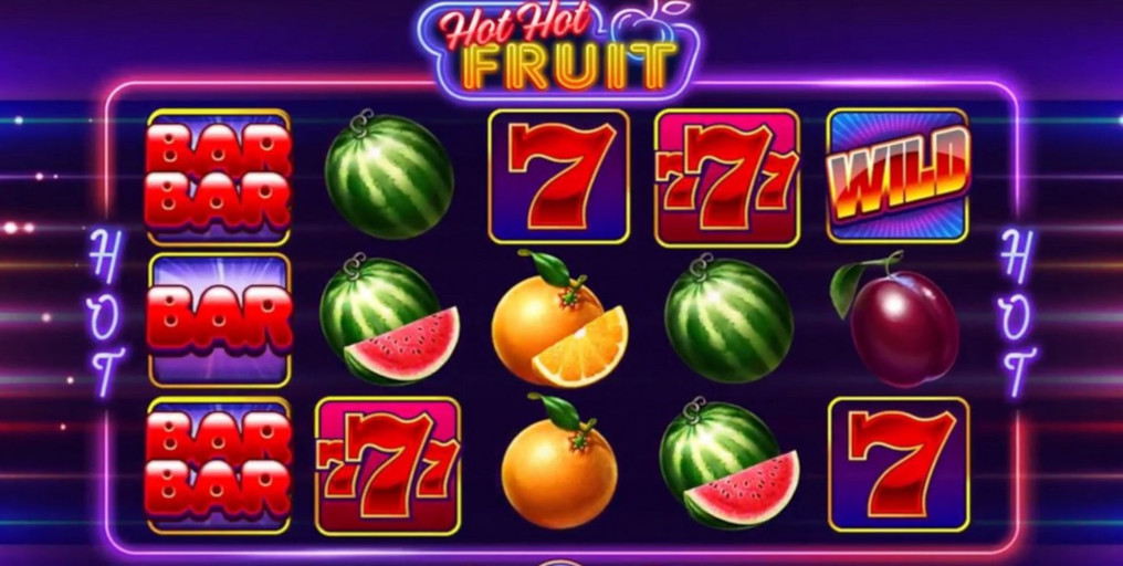 Hot Fruits Slot Machine Game to Play Free