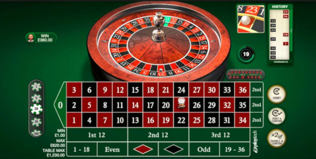 Play Multiplayer European Roulette Playtech