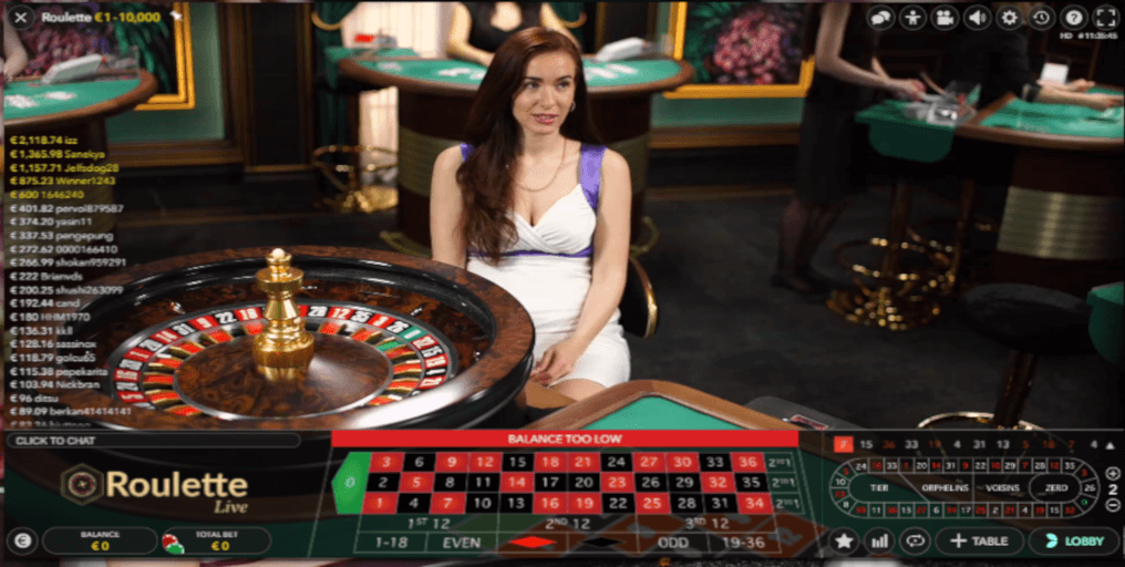 Play Multiplayer Europan Roulette Live