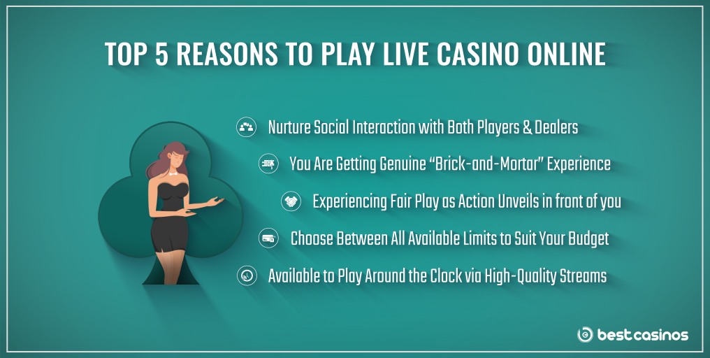 Why Try Live Dealers Online