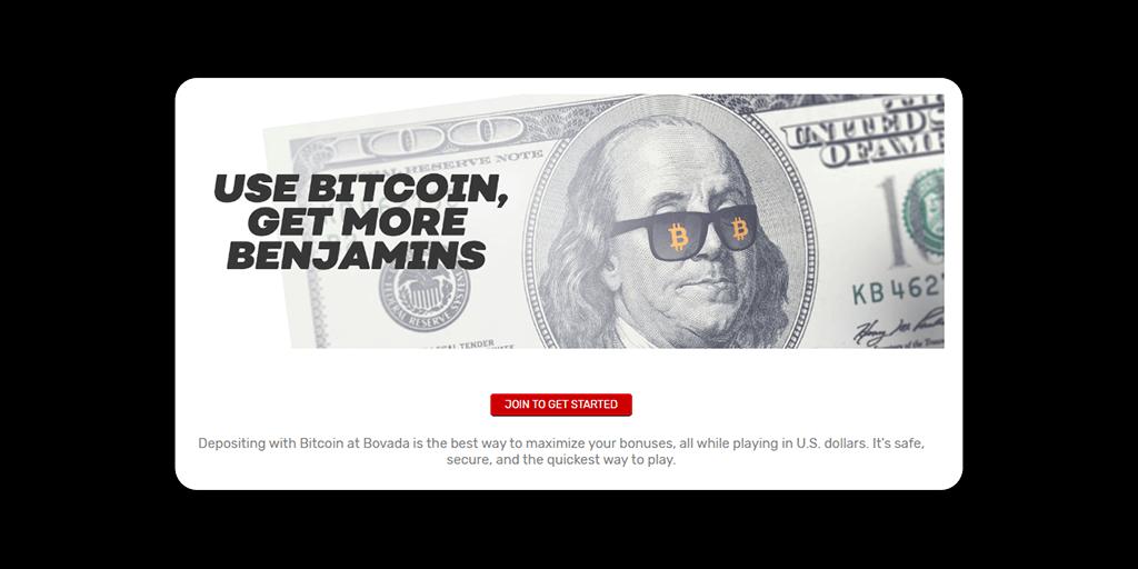 Bovada Casino Crypto Bonuses