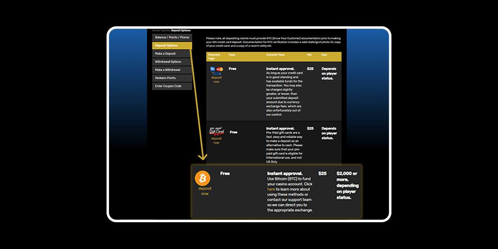 Drake Casino Crypto Banking