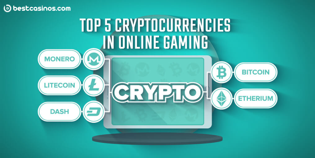 Most Popular Cryptocurrencies at Online Casinos