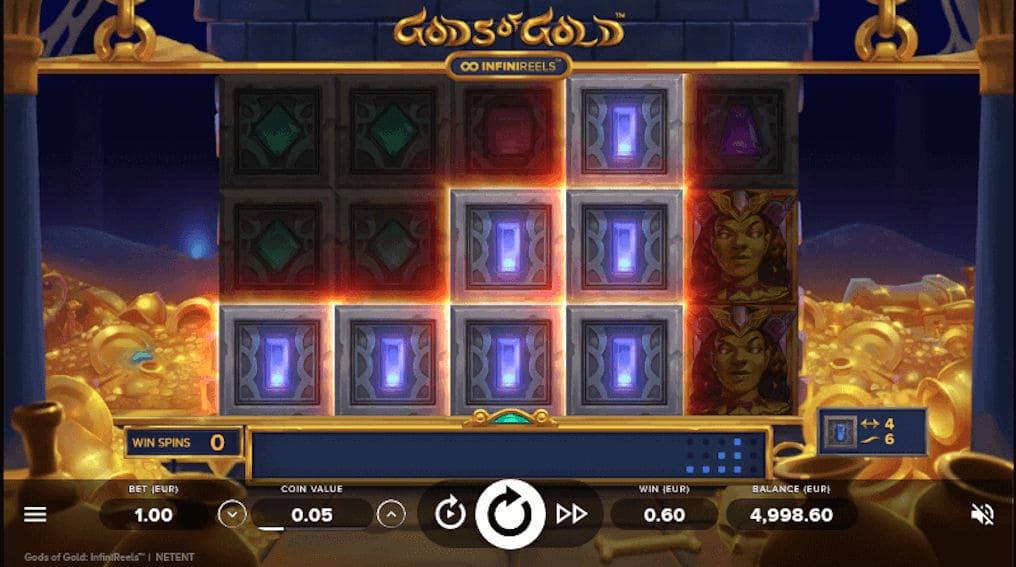 Gods of Gold InfiniReels™ NetEnt