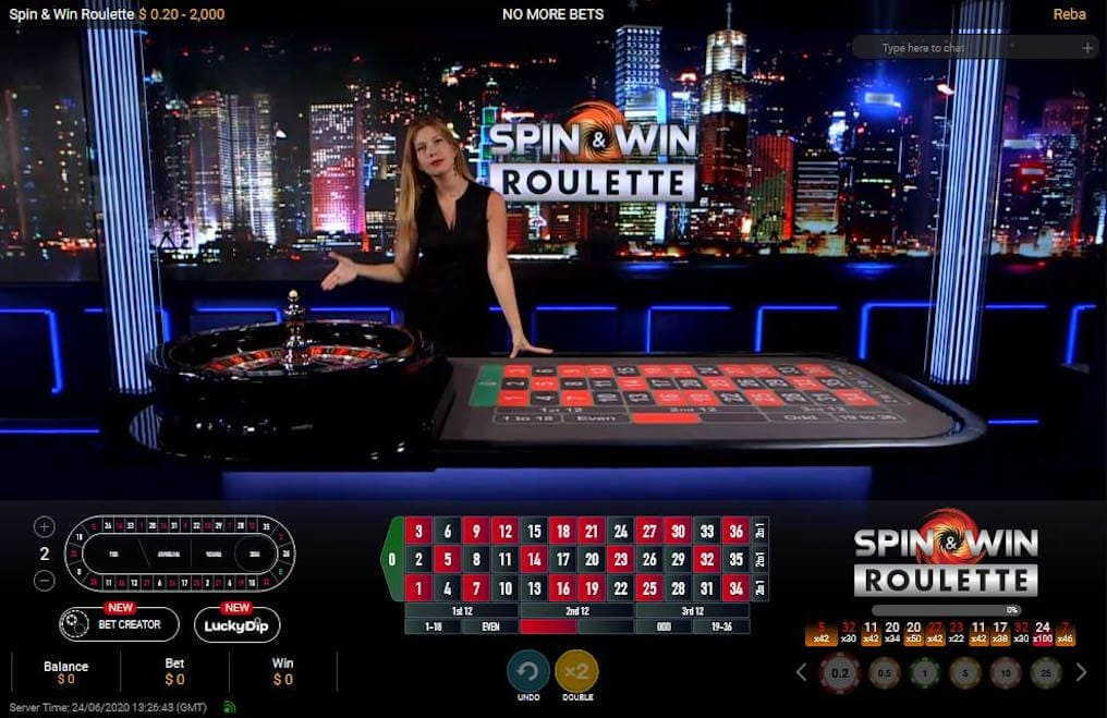 Spin & Win Roulette Gameplay