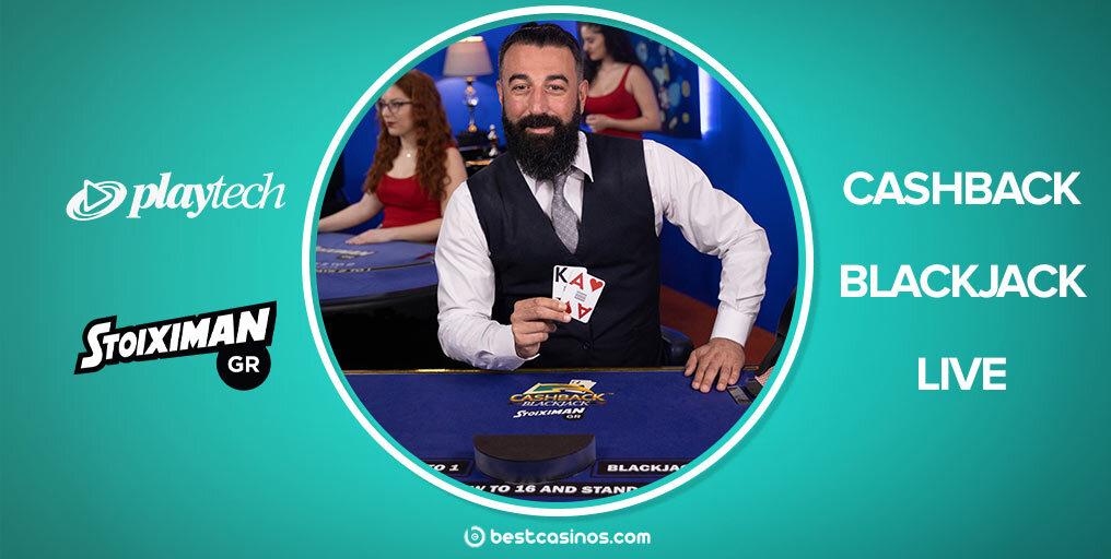 Cashback Blackjack Live Playtech Exclusive Table