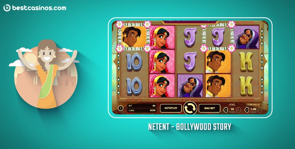 Bollywood Story NetEnt