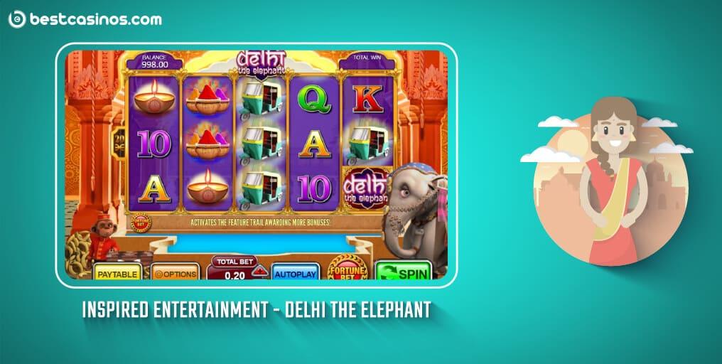 Delhi the Elephant Inspired