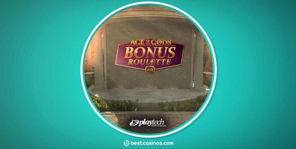 Playtech Age of Gods Bonus Roulette Live Table