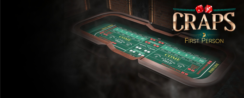Craps First Person Table Evolution Gaming