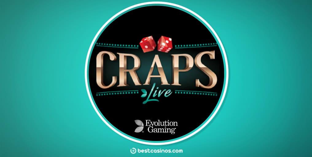 Live Craps live dealer table Evolution