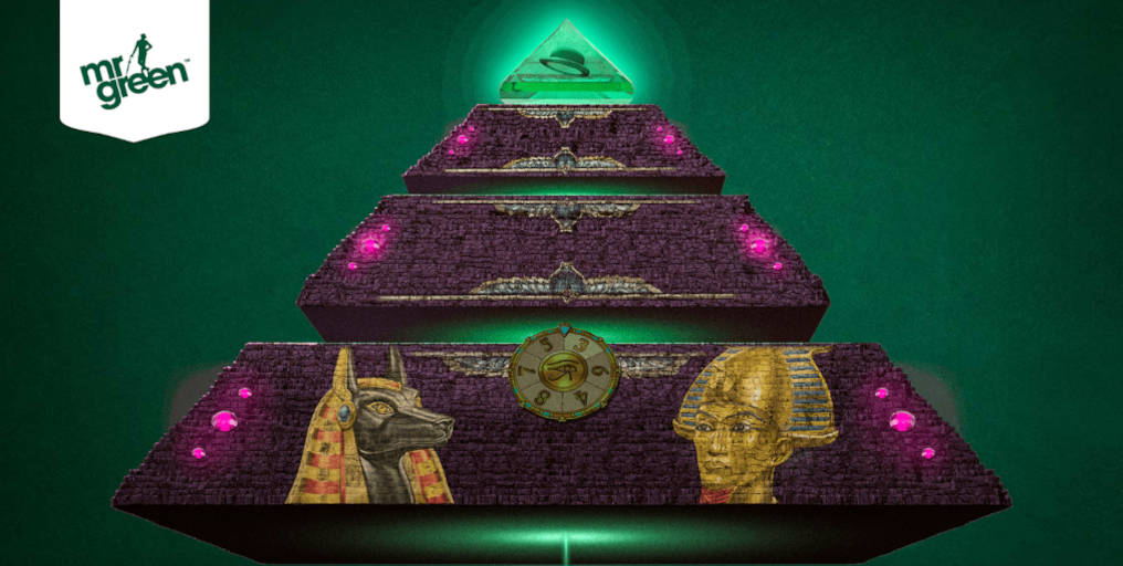 Win Cash Prizes at Mr Green Cash Pyramid