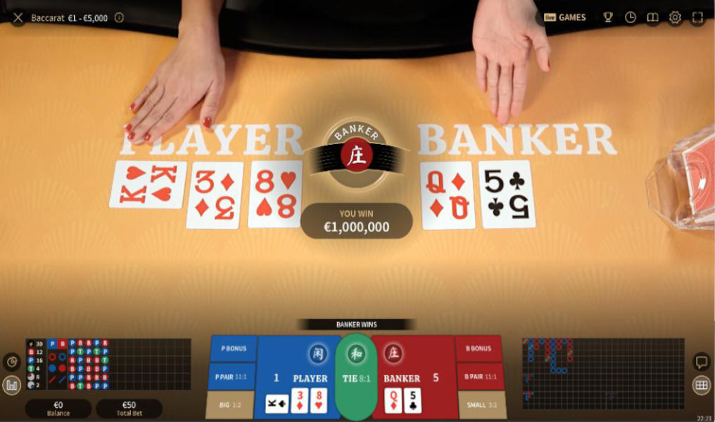 How to Play Speed Baccarat Live