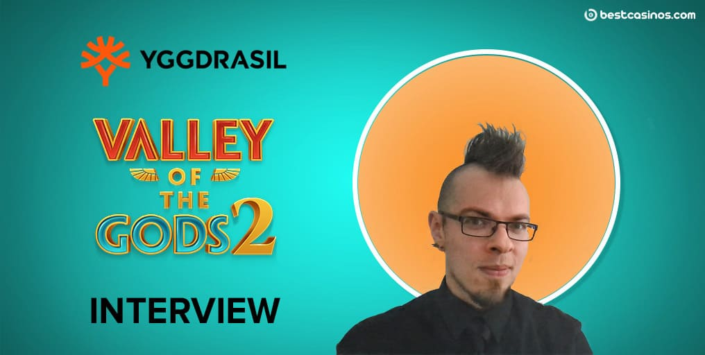 Exclusive Marcin Gorka Yggdrasil Gaming Valley of the Gods 2 Interview