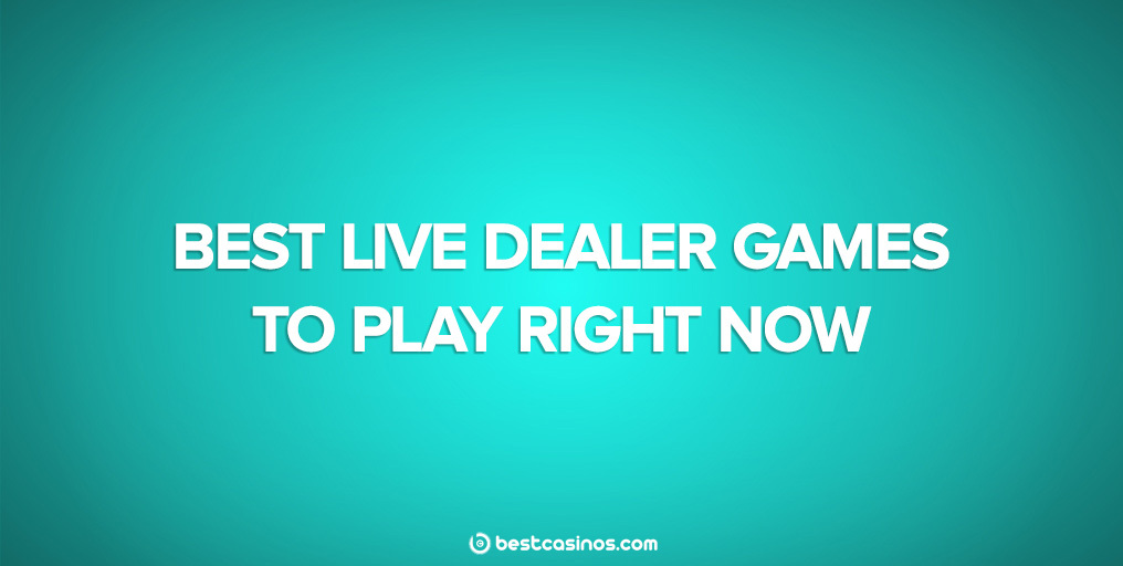 Top live dealer games to play 2020