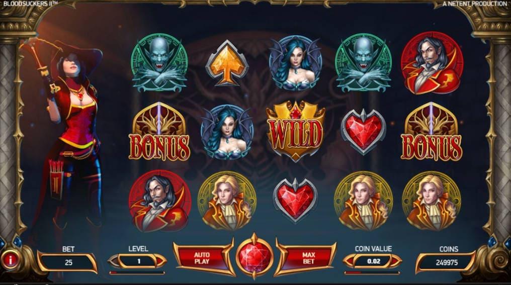 Blood Suckers 2 NetEnt Slot Online
