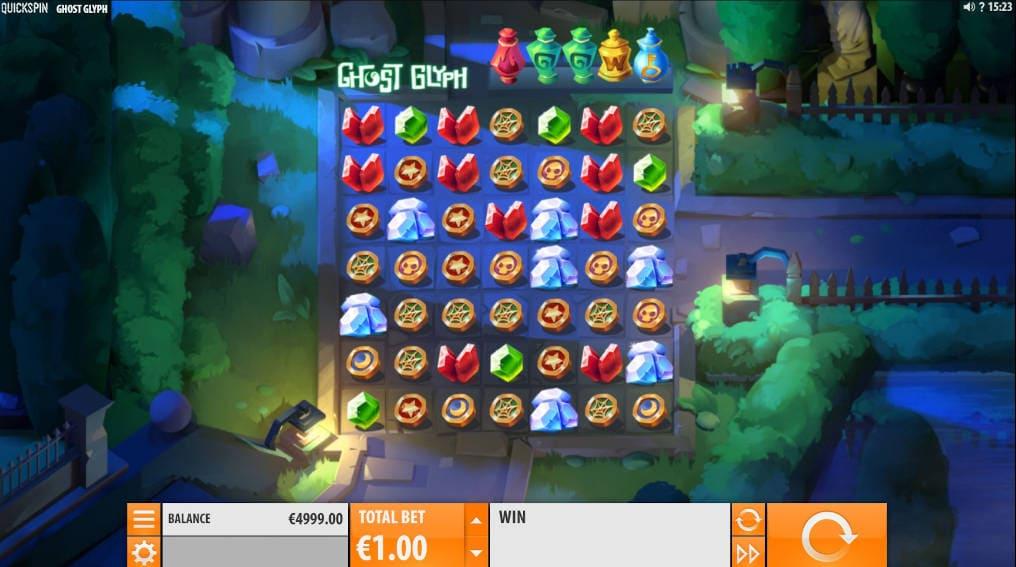 Ghost Glyph Quickspin Slot Online