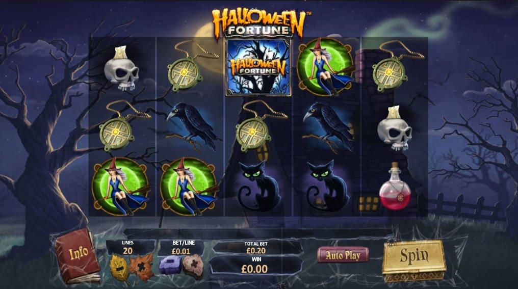 Halloween Fortune Playtech Online