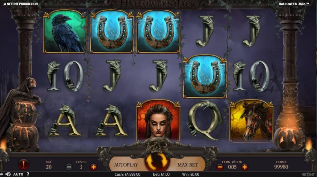 Halloween Jack NetEnt Slot Online