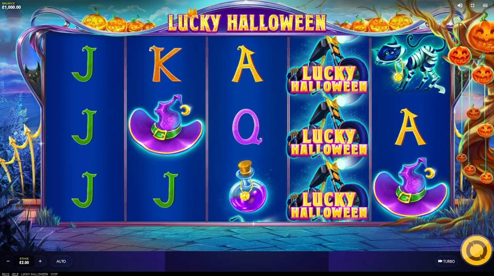 Lucky Halloween Red Tiger Slot Online