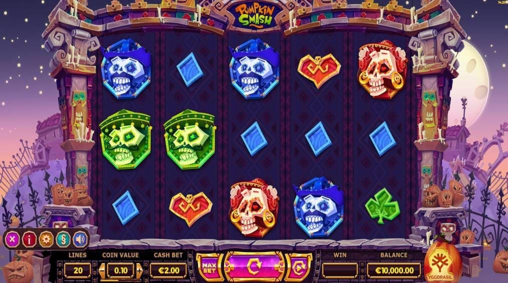 Pumpkin Smash Yggdrasil Gaming Slot Online