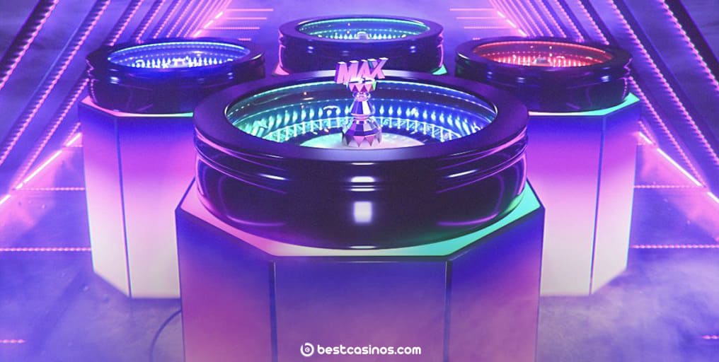 Roulette MAX NetEnt Live Dealer Table Game Play