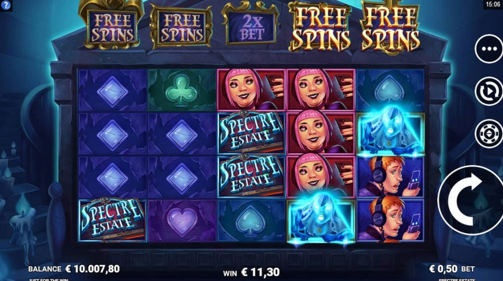Spectre Estate Microgaming Slot Online