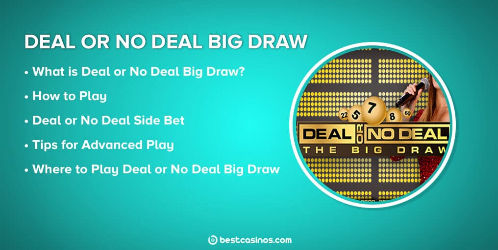 Deal or No Deal Big Draw Guide
