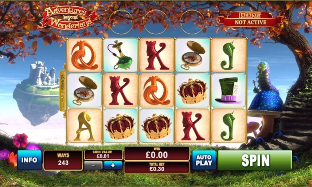 Adventures Beyond Wonderland Slot Online Playtech