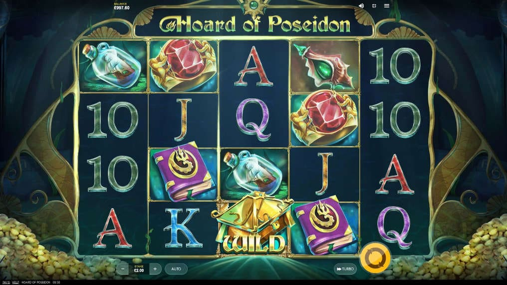 Play Hoard of Poseidon Red Tiger Slot