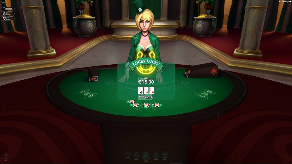 Free Lucky Blackjack Yggdrasil Gaming