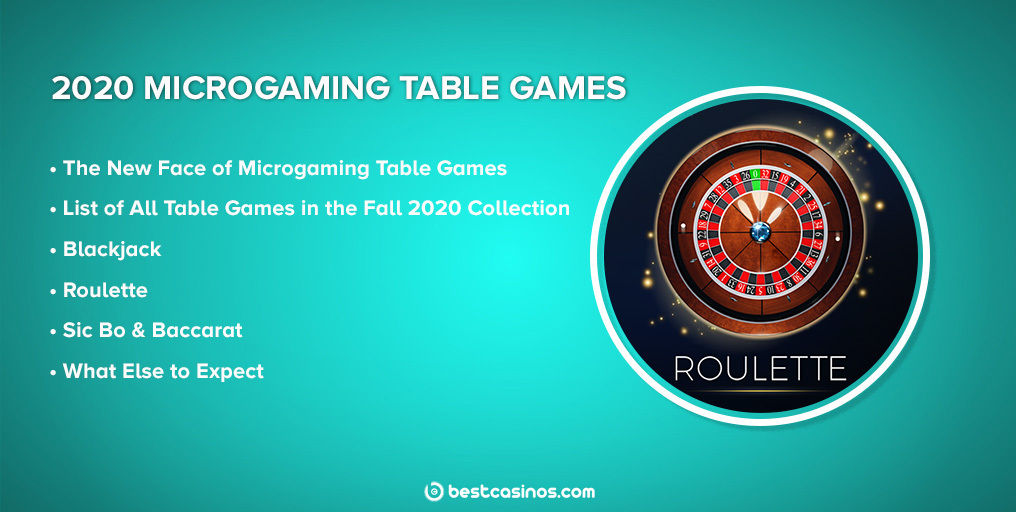 Microgaming Switch Studios table games