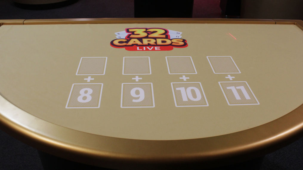 What is Ezugi 32 Cards Live Table