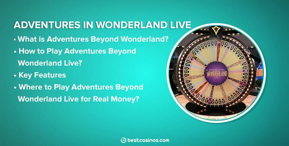 Adventures Beyond Wonderland Live Guide Contents