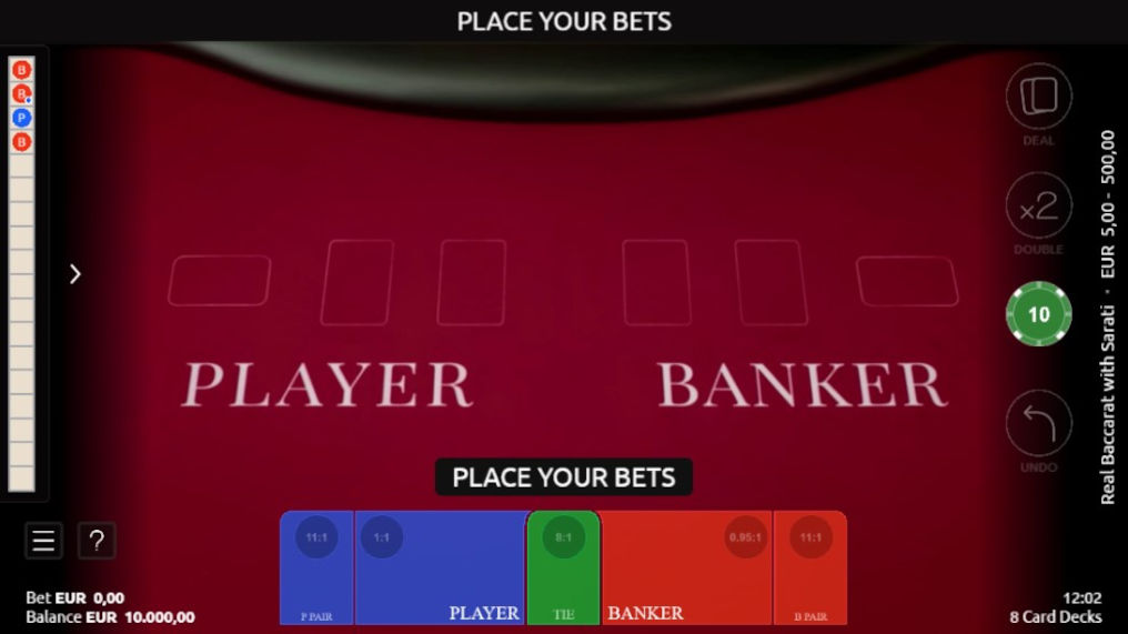 How to Play Real Baccarat with Sarati Microgaming