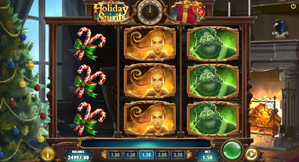 Play'n GO Holiday Spirits Slot Online
