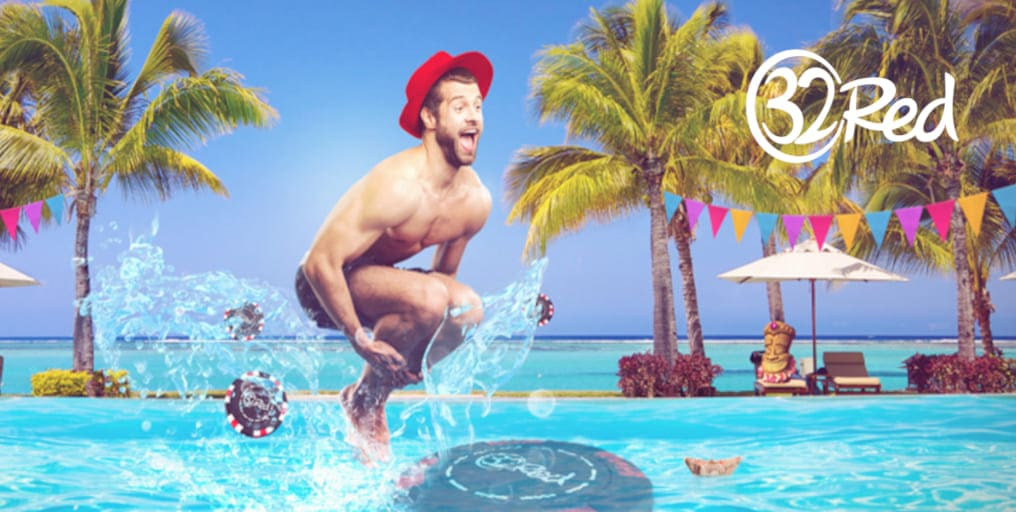 32Red online casino promotion daily splash of cash