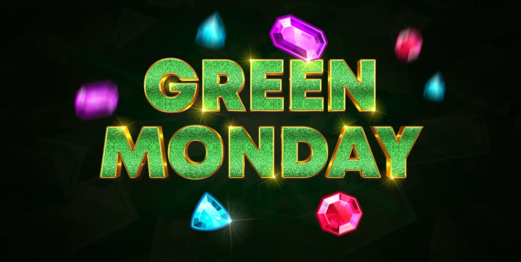 GreenSpin.bet casino Green Monday Daily Promotion