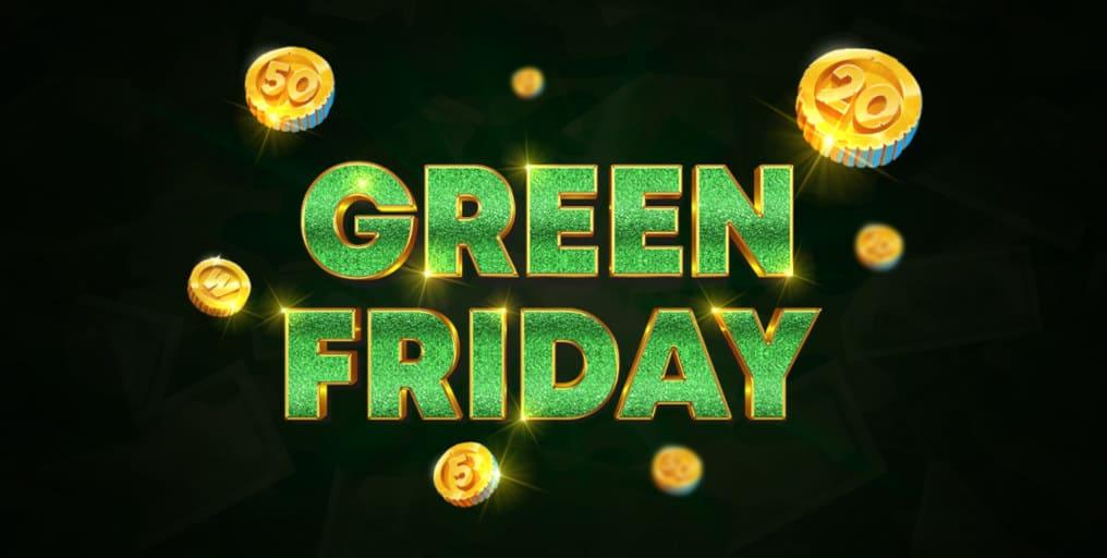 Green Friday Bonus GreenSpin.bet Casino