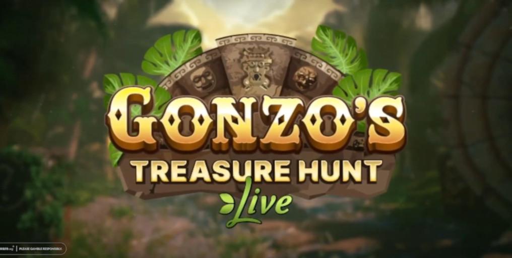 Evolution NetEnt Gonzo's Treasure Hunt Live Announcement