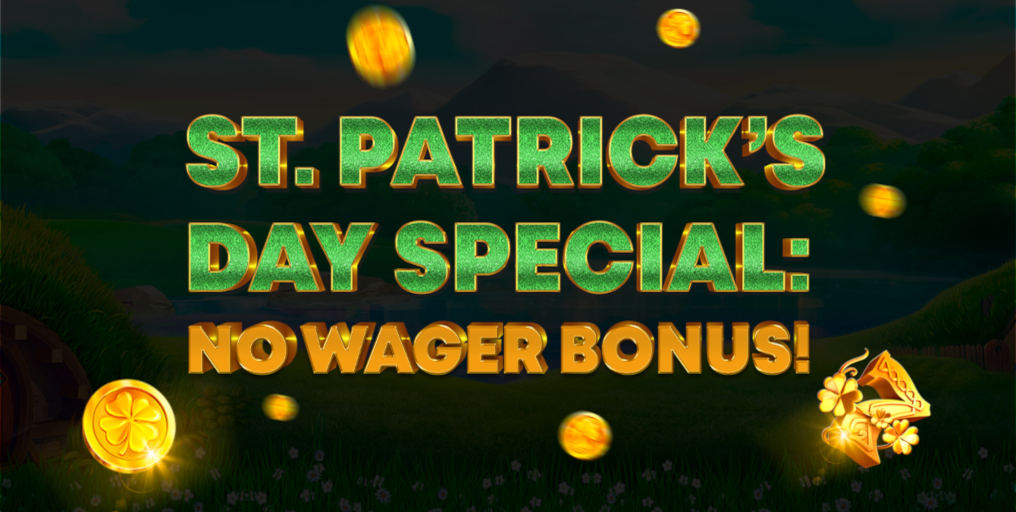 GreenSpin.bet Casino Special St Patrick's Day Promotion