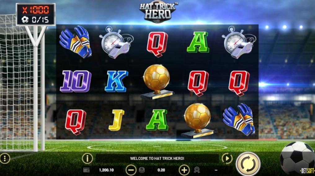 Betsoft Hat-Trick Hero Slot