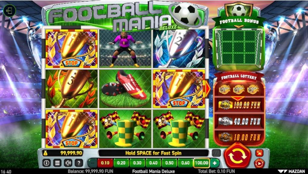 Wazdan Football Mania Deluxe Slot