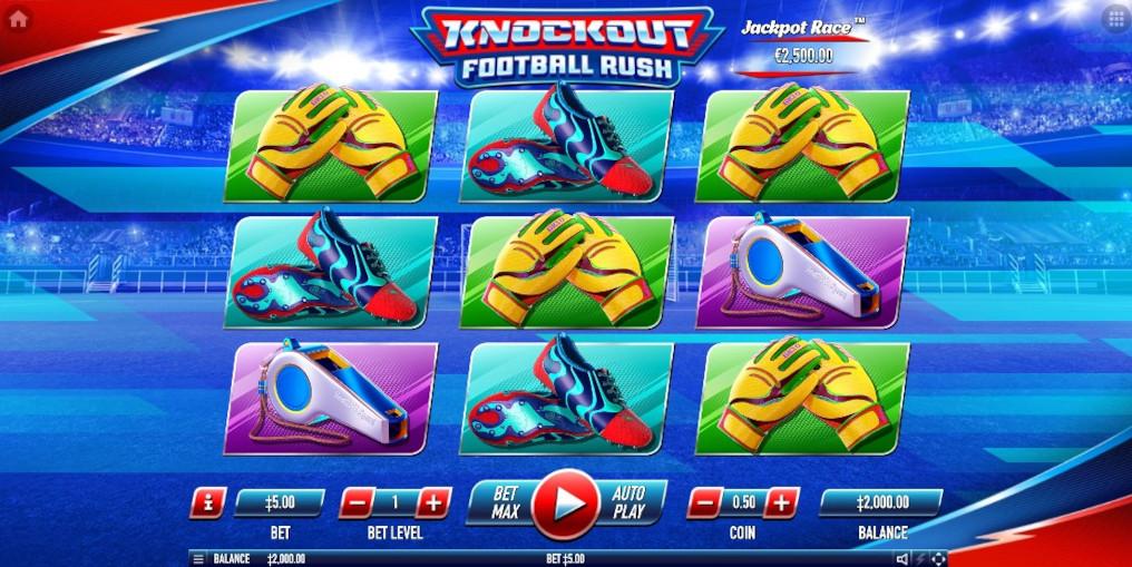 Knockout Football Rush Slot Habanero