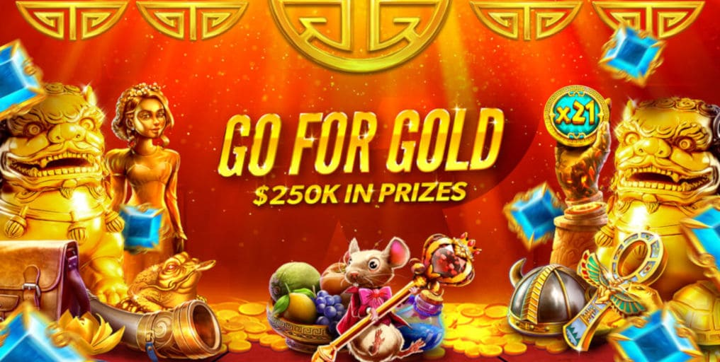 Rizk Casino Go For Gold Promotion
